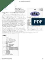 PHP –Linguagem