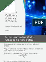 Propagação Da Luz e Alterações No Feixe Optico