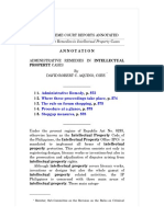 Administrative Remedies in Intellectual Property Cases