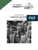 GIDA1099839-Lecture Script CompositeMaterials 2014