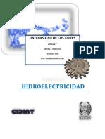 Hidroelectricidad, Apuntes De