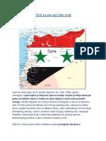 Bjašnjenje rata u Siriji