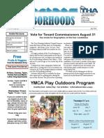 July 2016 THA Neighborhoods Newsletter