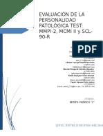 Grupo Nº3 Evaluación de La Personalidad Patológica Test