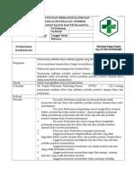 302681154 Sop Penyusunan Indikator Klinis Dan Indikator Perilaku Pemberi Layanan Klinis Dan Penilaianya