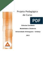 PPC Ciencias Contabeis EAD 2012