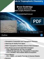 NASA's Role in Tropospheric Chemistry