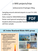 Whole Air Sampling - Rowland-Blake Group, UC Irvine