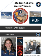 NASA Student Airborne Research Program