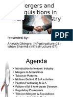 Mergers & Acquisitions in Telecom Industry -