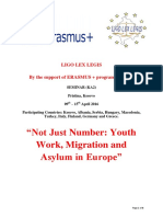 Not Just Number Youth Work Migration and Asylum in Europe Infoletter 2