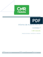 07-Informe de Avance - Autoriza 7 - 14-09-2015 a 17-09-2015 - v1 0