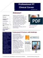 clinical newsletter - rob s vol 1 january 2015