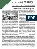 Il Corriere del Festival N.01