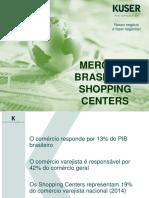 Mercado Brasileiro Shopping Centers