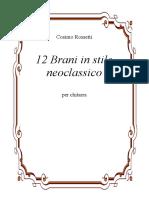 280123611 12 Brani in Stile Neoclassico