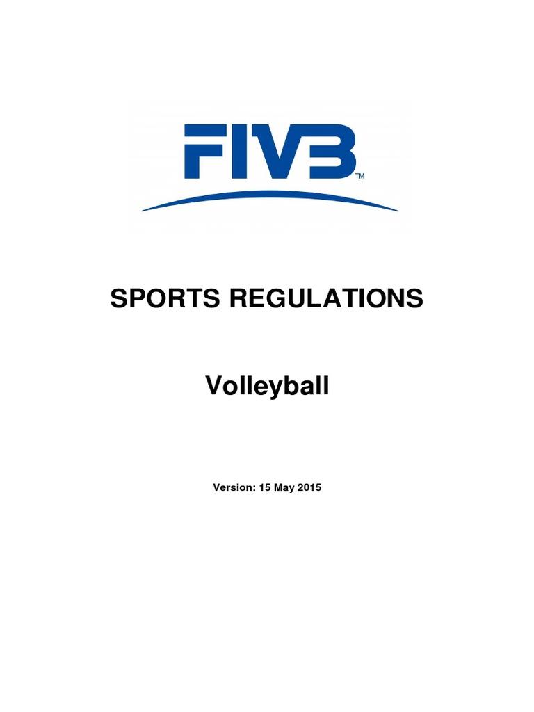 FIVB Sports Regulations 2015 26-01-2016 | Sports