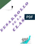 DESARROLLO DE CLASE