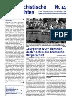 antifaschistische nachrichten 2008 #14