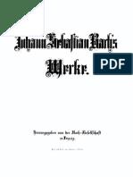 Bach Complete Works, Vol 27.1 - Violin and Cello Solo Sonatas