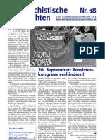 antifaschistische nachrichten 2008 #18