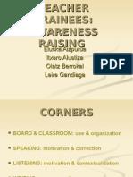 TEACHER TRAINEES-AWARENESS RAISING