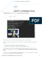 How to Install OpenCV 3 on Raspbian Jessie - PyImageSearch