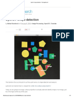 OpenCV Shape Detection - PyImageSearch
