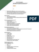 SAP PP Contents
