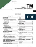 2013 2014 Nissan Versa Transmission Info