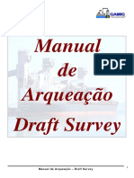 Manual Draft Survey - Arqueação