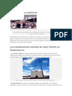 Guatemala y Sus Tradiciones