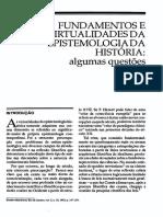 Fundamentos e Virtualidade Da Epistemologia Da História - Algumas Questões - Arno Wehling