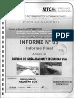 Informe 05 - Anexo g Señalizacion y Seguridad Vial
