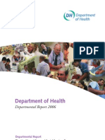 Department of Health Departmental Report 2006