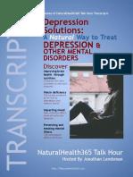 Depression Solutions Transcript 2