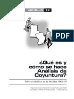 Qué es y cómo se hace Análisis de Coyuntura - CEDIB - 29 p..pdf