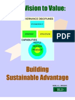 From Vision To Value - Building Sustainable Advantage