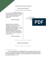 Ward v. U.S. Customs Service, 89 F.3d 852, 10th Cir. (1996)