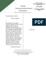 Curtis v. OKC Public Schools, 147 F.3d 1200, 10th Cir. (1998)
