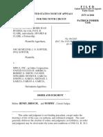 Hughes v. MWCA, Inc., 10th Cir. (2001)