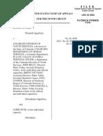Doerr v. Colorado Division of, 10th Cir. (2004)