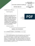 Ashfield v. Cacciatore, 10th Cir. (2005)