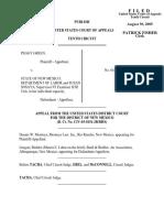 Green v. New Mexico Dept., 420 F.3d 1189, 10th Cir. (2005)