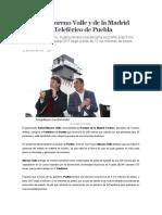 04.01.16 Moreno Valle y de La Madrid Inauguran Teleférico de Puebla
