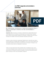 05.01.16 Anuncia RMV Segunda Universidad a Distancia en Quecholac