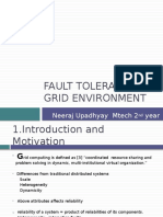 Fault Tolerance in Grid
