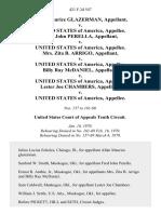 Allan Maurice Glazerman v. United States of America, Fred John Perella v. United States of America, Mrs. Zita B. Arrigo v. United States of America, Billy Ray McDaniel v. United States of America, Lester Joe Chambers v. United States, 421 F.2d 547, 10th Cir. (1970)