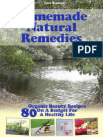 Homemade Natural Remedies - 80 Organic Beauty Recipes On A Budget For A Healthy Life (2016).epub