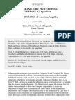 In Re Grand Jury Proceedings. Company X, 1 v. United States, 857 F.2d 710, 10th Cir. (1988)